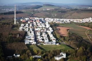 Luftbild Petrisberg Ende März 2014