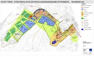 Städtebaulicher Rahmenplan Stand Mai 2001