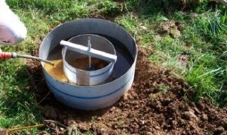 Untersuchungen zur Versickerungsfähigkeit des oberflächennahen und tieferen Untergrundes
