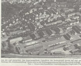 Das Kasernengelände Castelforte und die »Holzhaussiedlung«