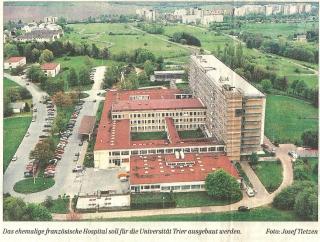 Luftbild Hospital Trier