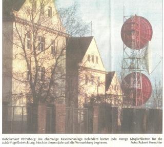 Foto mit Antennenanlage