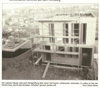 Bauausstellung Holzhaus