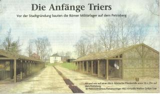 Rekonstruktion Militärlager Petrisberg