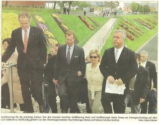 Besuch Grossherzog von Luxemburg bei der LGS