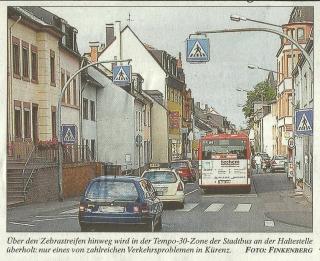Verkehrsprobleme Domänenstrasse
