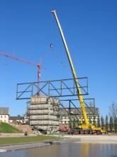 Bau des WIP-Centers