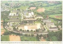Luftfoto aus Westen bis Hospital