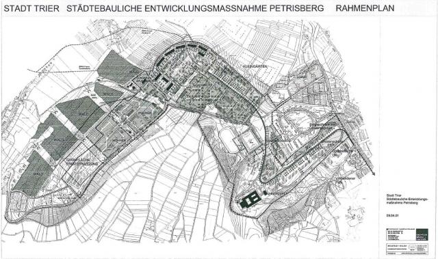 Städtebaulicher Rahmenplan Stand 09.04.2001